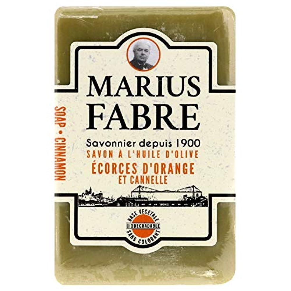 崇拝しますガレージ薬を飲むサボンドマルセイユ 1900 シナモンオレンジ 150g