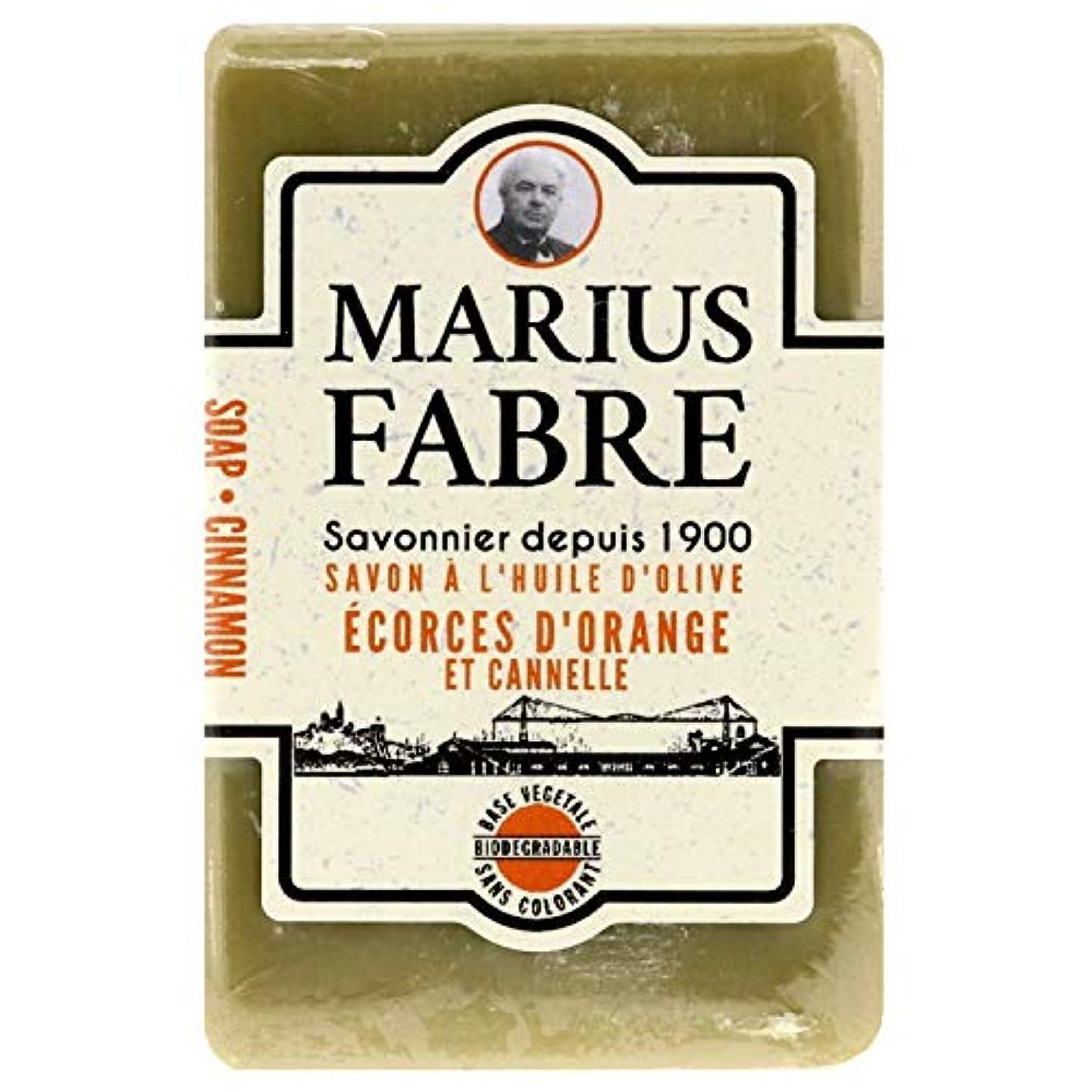 忠実ペインギリック含むサボンドマルセイユ 1900 シナモンオレンジ 150g
