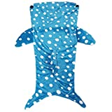 マーメイドブランケット 履く毛布 着る毛布 厚手素材 防寒具 魚・動物シリーズ pzm20(ジンベイザメ)