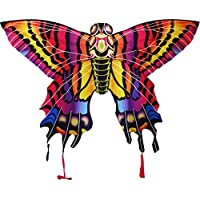 x-kites stratokitesバタフライrip-stopナイロンカイト、40
