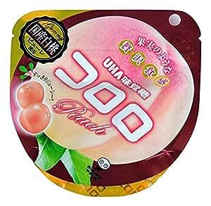 味覚糖 コロロ ピーチ 国産白桃 40g