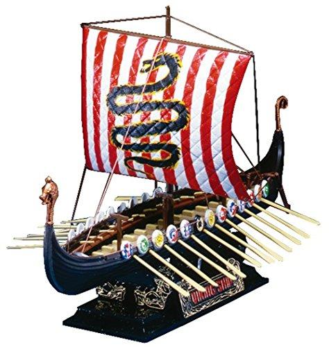 青島文化教材社 オールドタイムシップス No.03 バイキング船