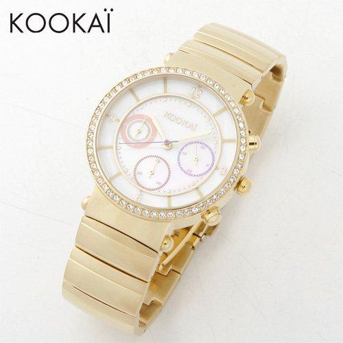 [クーカイ]KOOKAi 腕時計 1624 004 イエローゴールド レディース [並行輸入品]