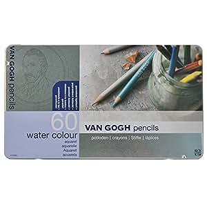 ヴァンゴッホ 水彩色鉛筆 60色 T9774-0065