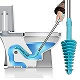 BEAMS 詰まってサイホンにするトイレ用、WCパワークリー、清潔にするパワーパイプ用のために環境デザインの壁フックト、イレステンレス、スチールハンドルのトイレプランジャーとKiLiビーム(小柄)