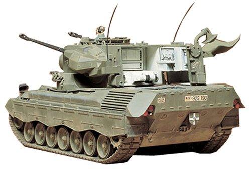 タミヤ 1/35 ミリタリーミニチュアシリーズ No.99 西ドイツ陸軍 ゲパルト 対空戦車 プラモデル 35099