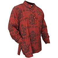 Shopoholic Fashion Mens Light Weight Festive Hippie Shirt