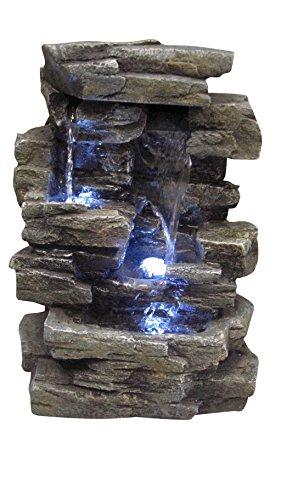 フェイクスレート 石の滝 卓上噴水 Universal Lighting and Decor社【並行輸入】
