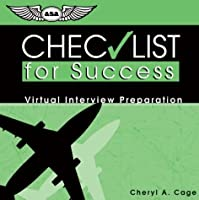 Checklist for Success CD: Virtual Interview Preparation (Professional Aviation)