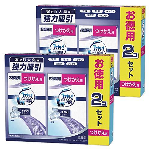 ファブリーズ 消臭剤 置き型 無香 つけかえ用 130g×4個