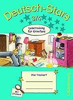 Deutsch-Stars 3/4. Lesetraining fuer Krimifans: Arbeitsheft