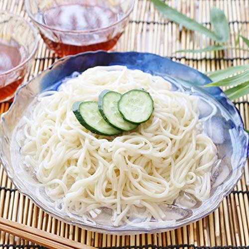 【送料無料】【メール便】手延生そうめん 200g 長崎生素麺(半生タイプ) (nh205068)