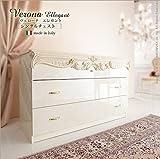 ヴェローナエレガント シングルチェスト イタリア 家具 ヨーロピアン アンティーク風