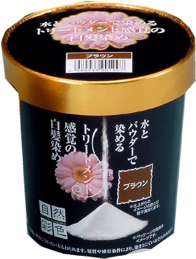 きちんとしたターミナル書士鈴木油脂工業 自然彩色 白髪染め 染美A ハーブの香り ナチュラルブラウン 30g