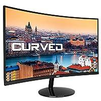 HKC 24A9:60.9 cm(24ポリ)PCデスクトップごとの湾曲モニターLED(フルHD 1.920 x 1.080、HDMIおよびVGA、4 ms)、nero