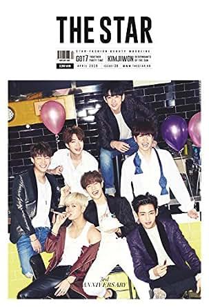 韓国雑誌 THE STAR 2016年 4月号(GOT7表紙・インタビュー記事、画報掲載 )