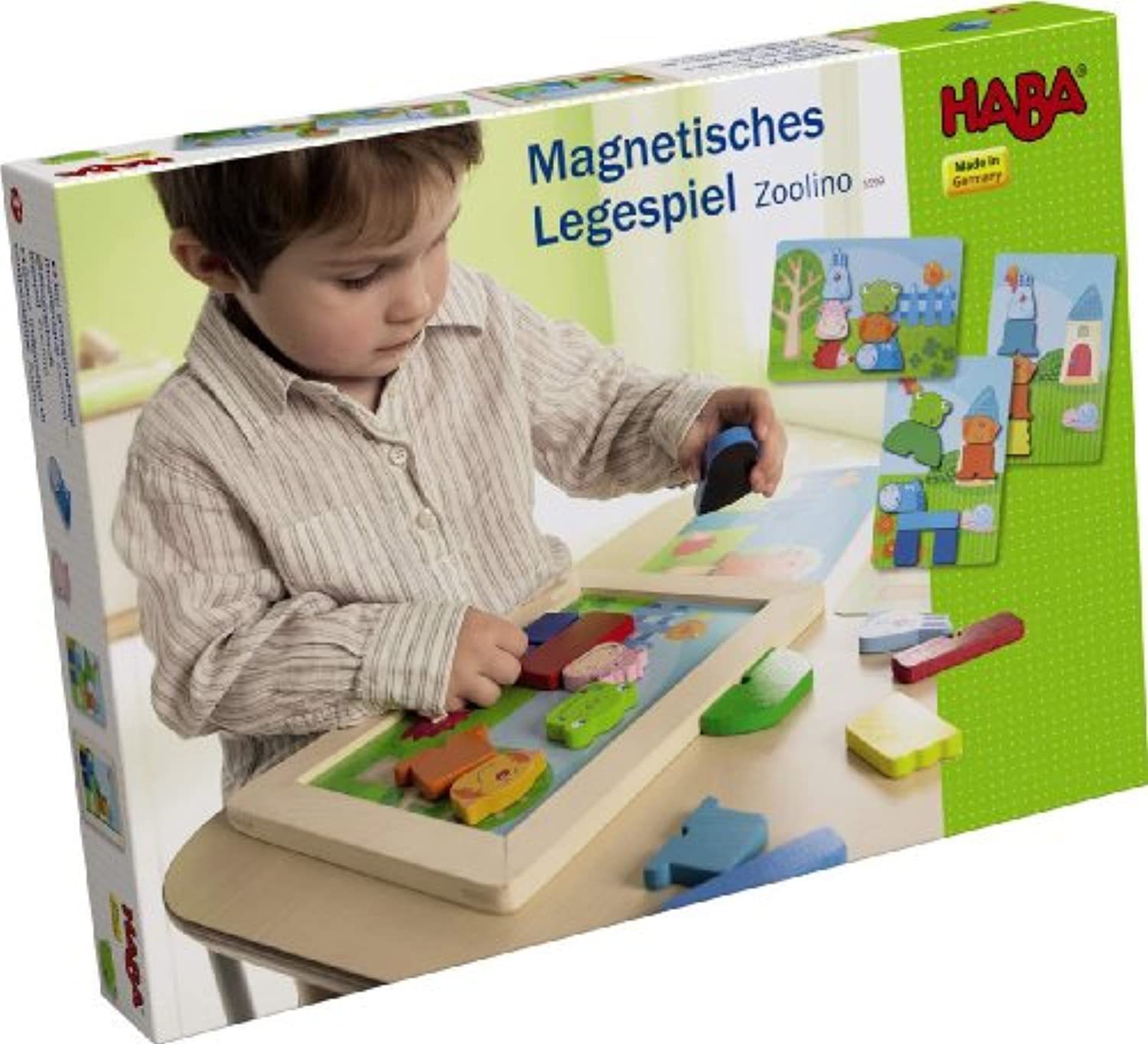 HABA Zoolino Magnetic Arranging Game by HABA [並行輸入品]