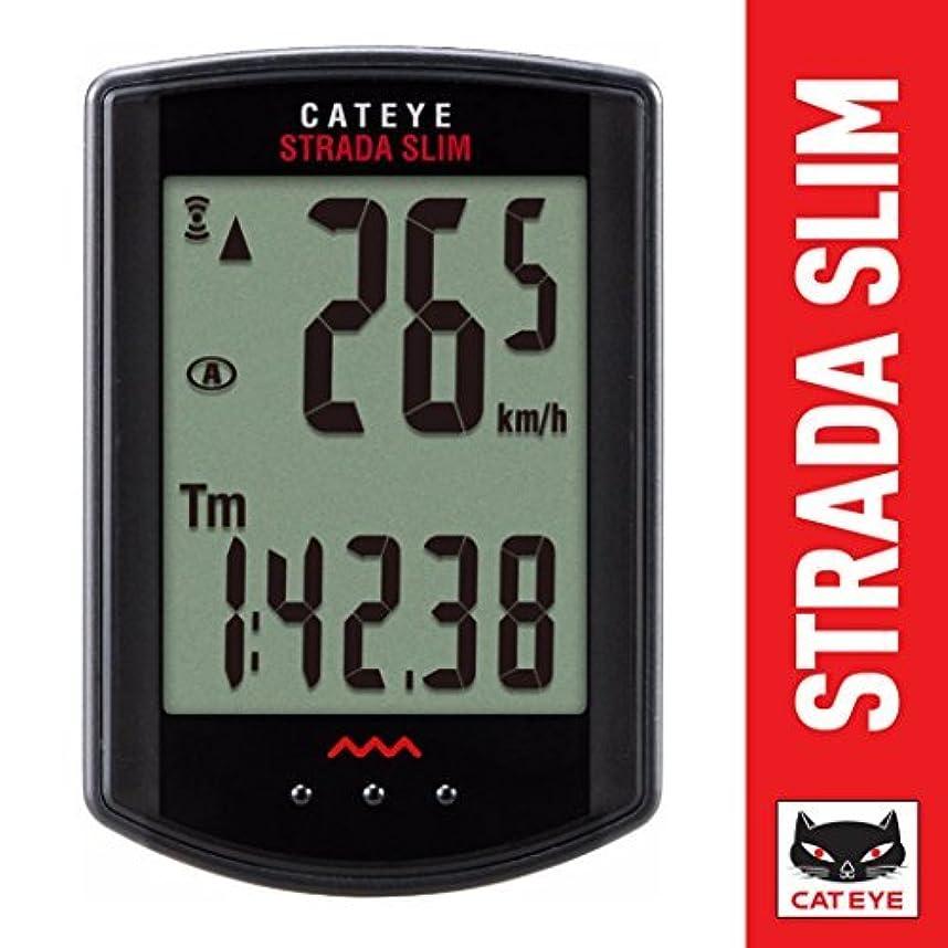 高齢者虐殺概要CatEye Strada Slim CC-RD Compteur sans fil Noir 310 W