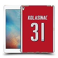 オフィシャル Arsenal FC Sead Kolašinac 2017/18 プレイヤーズ・ホームキット グループ 2 iPad Pro 9.7 (2016) 専用ハードバックケース