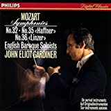 モーツァルト:交響曲第32番&第35番「ハフナー」&第36番「リンツ」