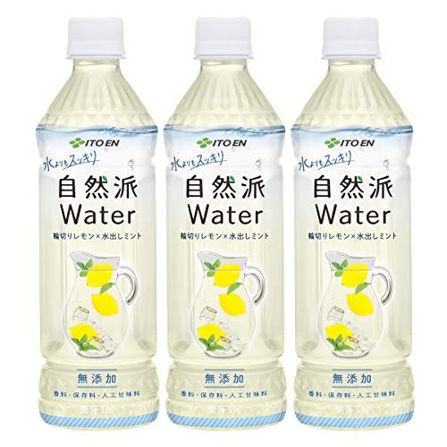 伊藤園 自然派ウォーターレモン 500ml ×3本