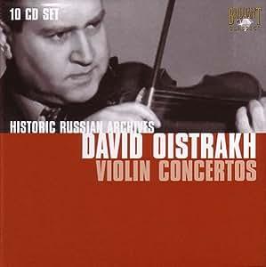 Violin Concertos: Historic Russian Archives