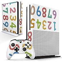 igsticker Xbox One S 専用 スキンシール 正面・天面・底面・コントローラー 全面セット エックスボックス シール 保護 フィルム ステッカー 009477