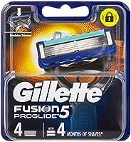 Gillette Fusion ProGlide Power Men's Razor Blades Refill Cartridges, 4