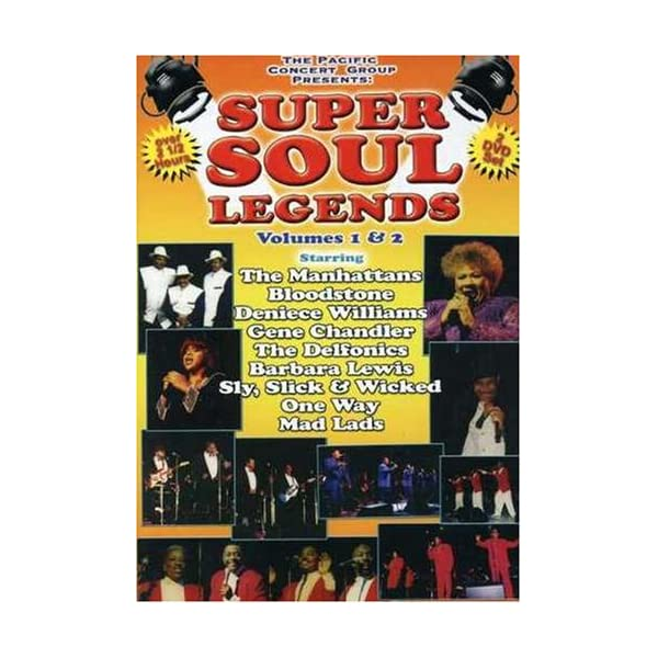 Super Soul Legends [DVD]...の商品画像