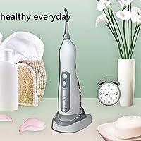 歯の洗剤、4つのジェット機のコードレス水フロスと防水家および旅行IPX7のためのUSBの再充電可能な携帯用口頭洗浄器,Black
