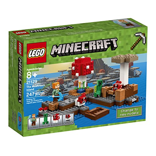 LEGO Minecraft The Mushroom島21129建物キット( 247ピース)