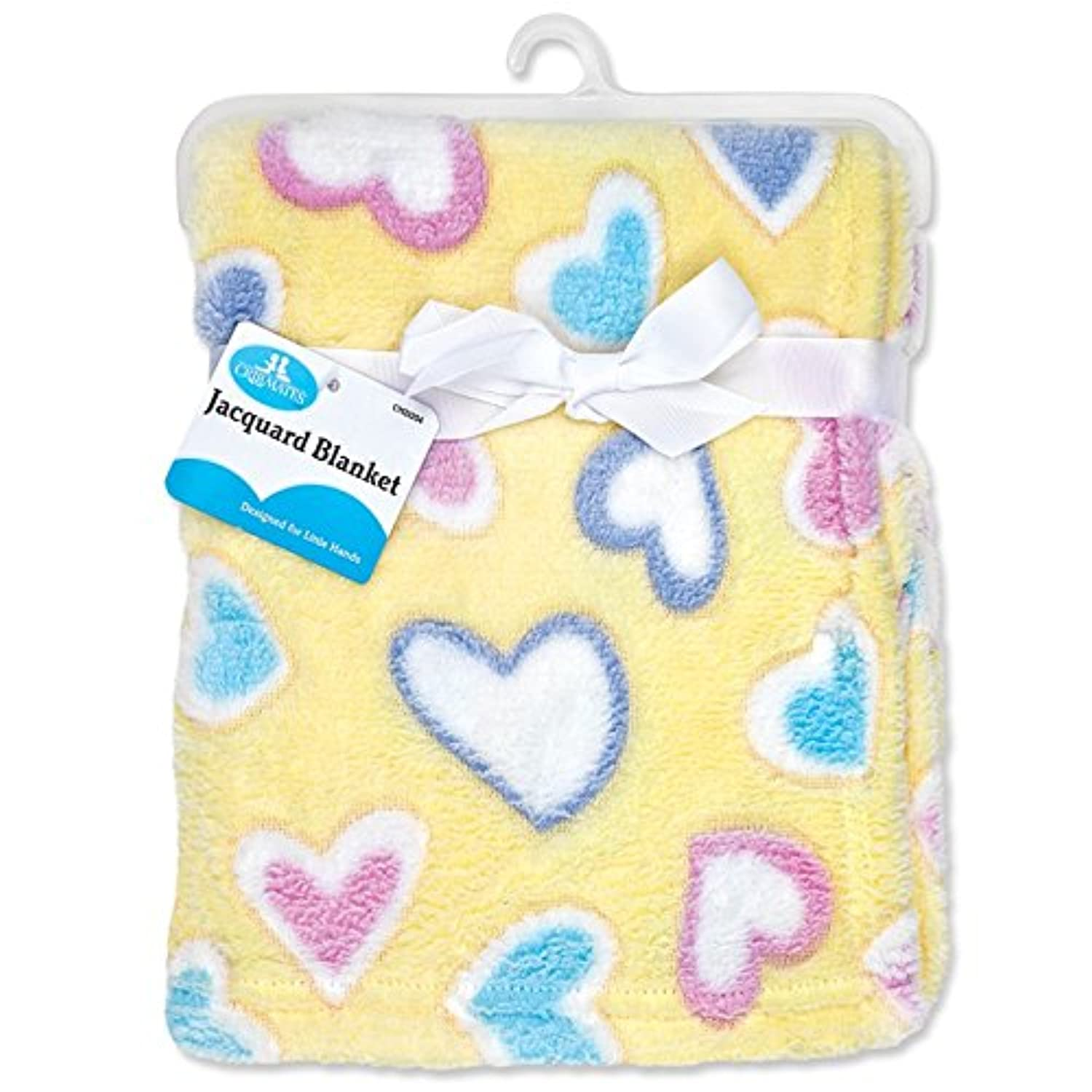 Regent Baby Crib Mates Blanket, 30 x 30 (Assorted Colors/Styles) by Regent Baby