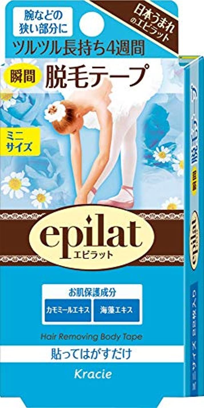 【クラシエ】エピラット 脱毛テープ ミニ 22枚 ×5個セット