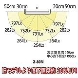 Z-LIGHT LEDデスクライト ホワイト 調色機能付き Z-80NW