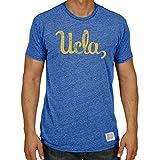 UCLA Bruins大人レトロロゴソフトトライブレンドTシャツ–ロイヤル、 XL ブルー