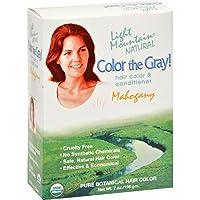 Color The Gray-Mahogany - 7 fl oz by Light Mountain