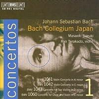 J.S. Bach: BWW 1041 Violin Concerto in A Minor, BWW 1042 Violin Concerto in E Major, BWW 1043 Concerto for Two Violins in D Minor, BWW 1060 Concerto for Oboe and Violin in C Minor by J. S. Bach (2000-05-15)