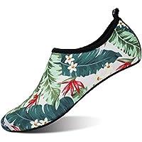 JOINFREE ウォーターシューズ 軽量 シュノーケリング アクアシューズ レインシューズ 男女兼用 マリン用 やわらかい ソフト 通気 スポーツ 海水浴靴 水陸両用