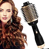 AU Plug 2020 Upgraded Version, One Step Hair Dryer and Volumizer, Delivery from AU Warehouse, 5 in 1 Hair Dryer Brush Hot Air Brush Comb Blow Dryer Styler Brush Negative Ion Hair Dryer for All Hair Types