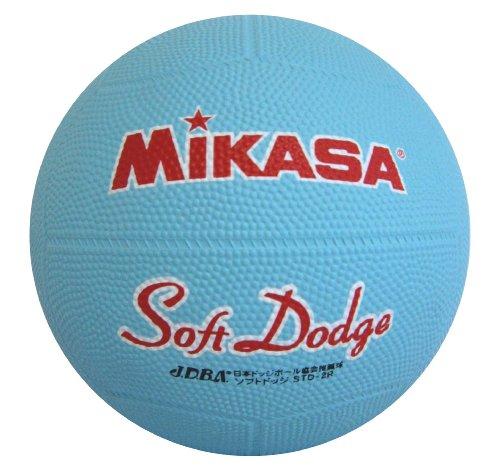 ミカサ ソフトドッジボール2号 軽量190g サックス 日本ドッジボール協会推薦球 小学校用 STD-2R S