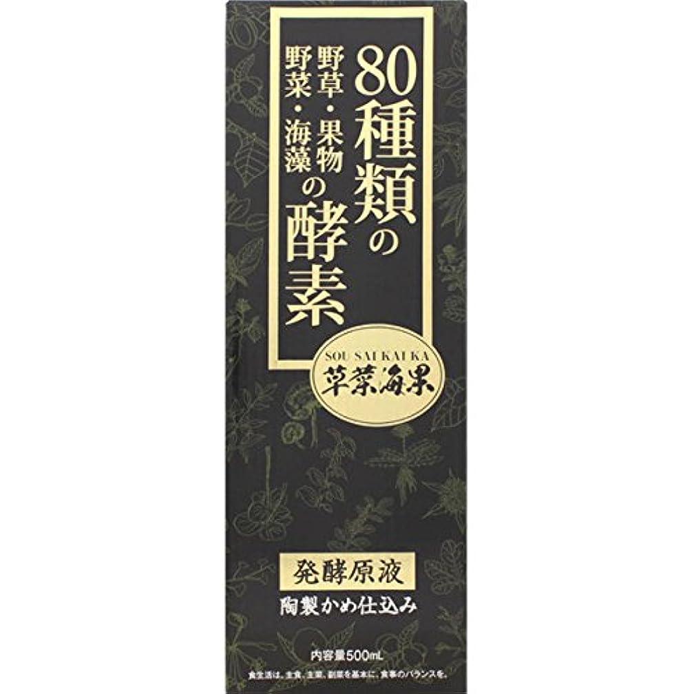サイクロプス代表ジョセフバンクス大木製薬 野草酵素 草菜海果 500mL