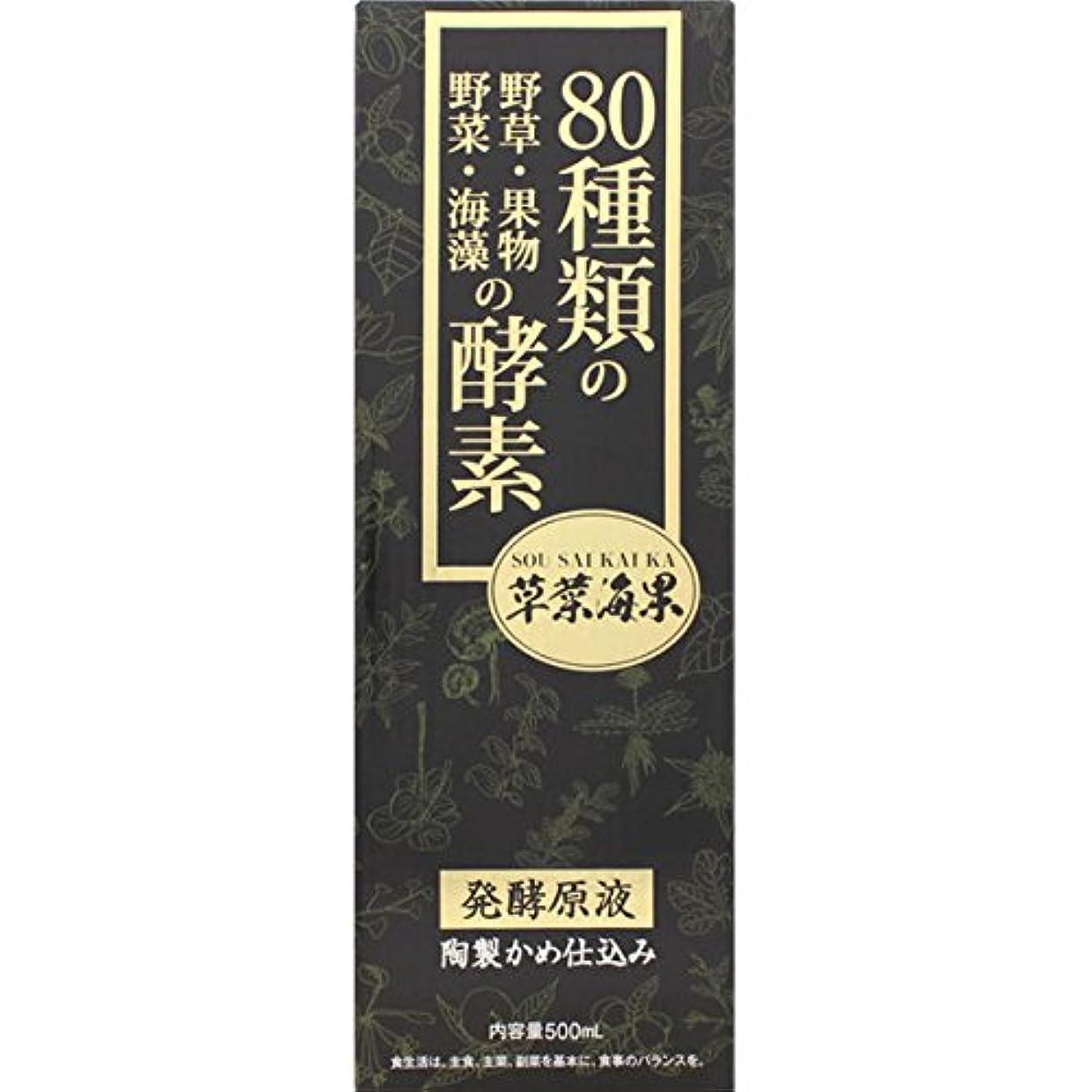 ハウジング有名息子大木製薬 野草酵素 草菜海果 500mL