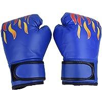 1ペア ボクシンググローブ 子供用 トレーニング 格闘技 空手 ムエタイ 拳ガード 両手セット 軽量 通気性