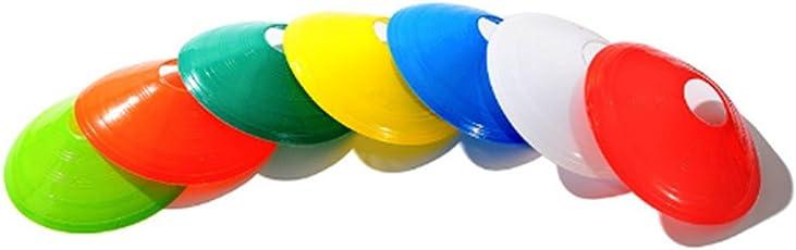 Bartram マーカーコーン ディスクコーン サッカー フットサル 用品 サッカー 練習 10 12 30枚セット