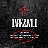 防弾少年団(BTS) - DARK&WILD[正規1集][韓国盤][MEGAKSHOP特典付] [並行輸入品]