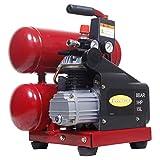 HAIGE コンプレッサー HG-CP4GLN 1馬力モーター 15.1リットル 4ガロン