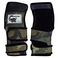 """(Small, Camo) - Mongoose """"Lifter"""" Bowling Wrist Band Support Brace Right Hand"""