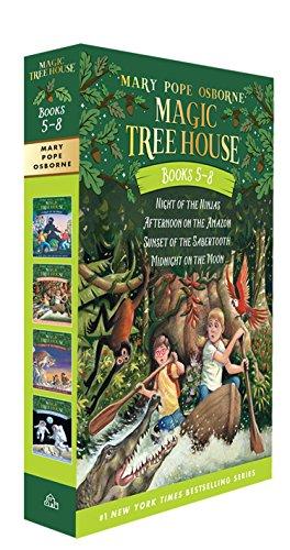 Magic Tree House Volumes 5-8 Boxed Setの詳細を見る