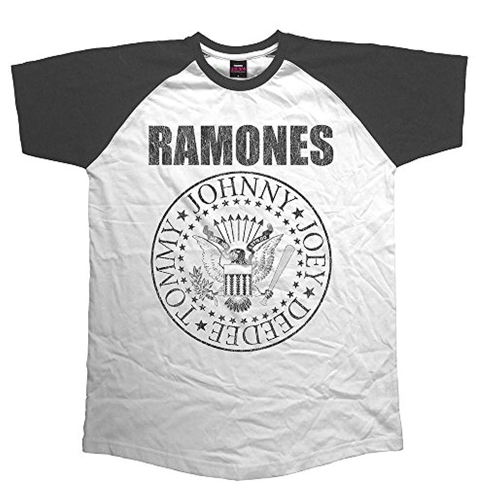 味拡声器百RAMONES ラモーンズ - PRESIDENTIAL SEAL/半袖ラグラン/Tシャツ/メンズ 【公式/オフィシャル】