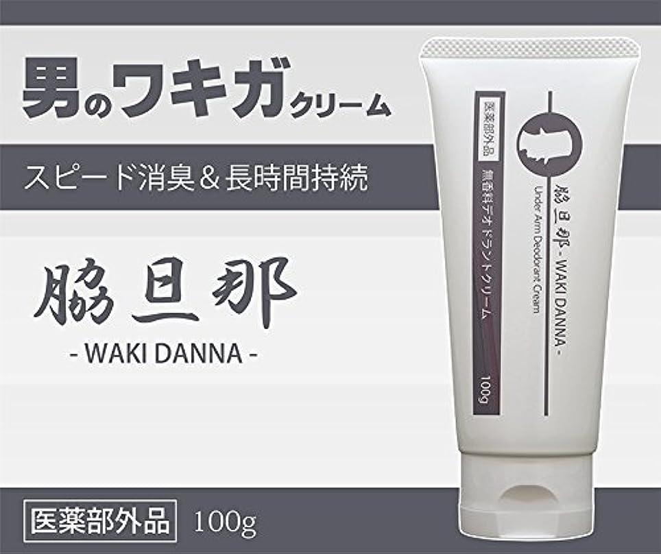 アラスカかび臭いマイクロプロセッサ日本製 薬用 男性用わきがクリーム 脇旦那 100g 医薬部外品 脇汗?わきの臭い対策に